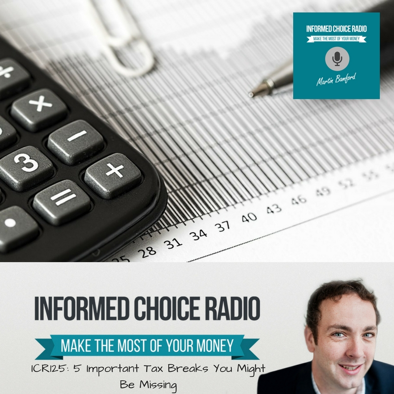 ICR 125_ 5 Important Tax Breaks You Might Be Missing