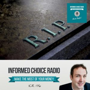 ICR176: What happens to my pension when I die?