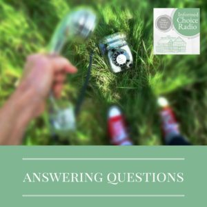 ICR250: It's time for me to answer some questions