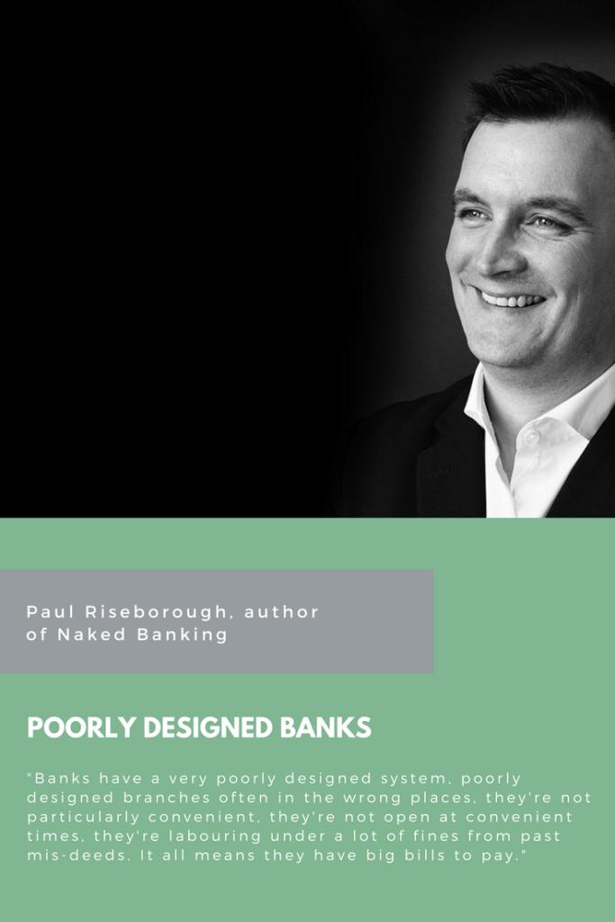 Paul Riseborough, Naked Banking