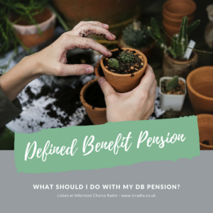 What should I do with my defined benefit pension_