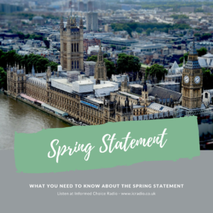 ICR317: What you need to know about the Spring Statement