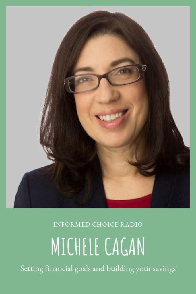 Setting financial goals and building your savings, with Single Mom CPA Michele Cagan
