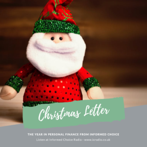 The Informed Choice Christmas Letter