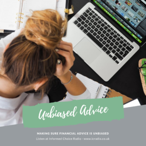 Making sure financial advice is unbiased