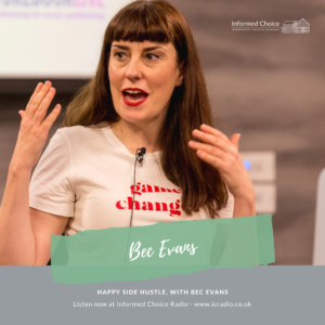 Happy Side Hustle, with Bec Evans
