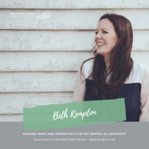 Finding hope and opportunity in the depths of adversity, with Beth Kempton
