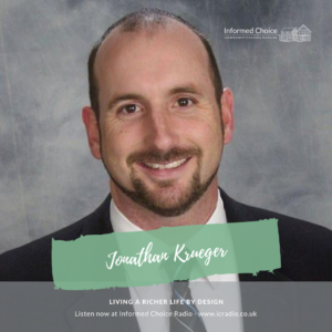 Living a richer life by design, with Jonathan Krueger
