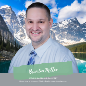 Securing a second passport, with Brandon Miller